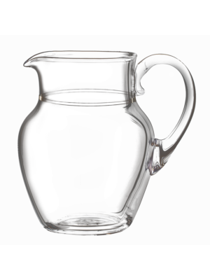 Lobmeyr Drinking Set No.4 Water Pitcher with Engraved Matted Ribbon
