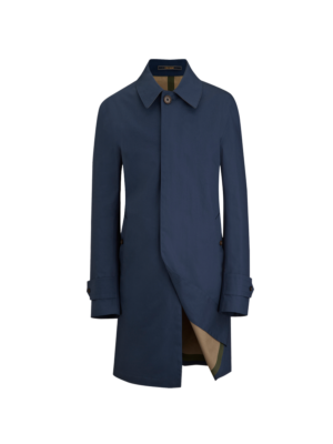 Crombie Rainmac Trenchcoat Blue