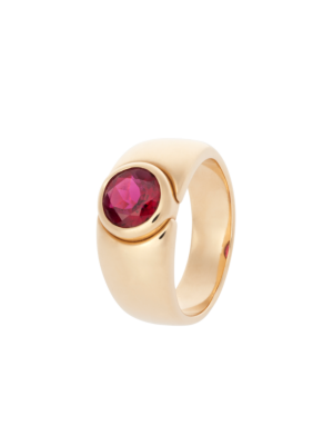 Pure Ring  Rubellite Rose Gold by RenéSim