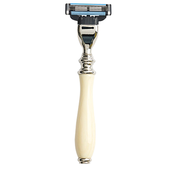 Taylor of Old Bond Street Mach3 Razor - Victorian Style Ivory Handle