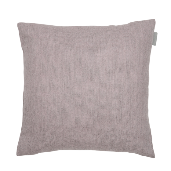 Alpaka Cushion Exclusive Fishbone Pink/Silver