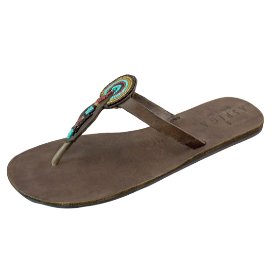 Aspiga  Handmade Leather Sandals Ngao