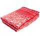 Monica Drossbach Silk Bedspread Red Rose
