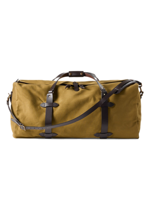 Filson Duffle Large Travelling Bag Tan