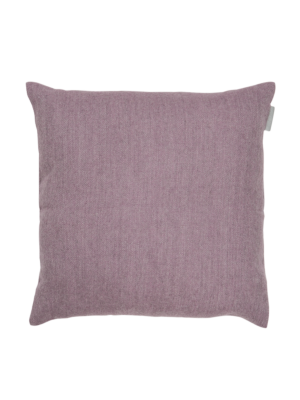 Alpaka Cushion Exclusive Fishbone Lilac/Silver