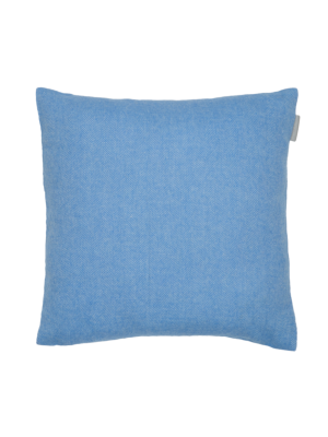 Alpaka Cushion Exclusive Fishbone Blue/White