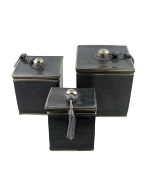 Ceramic Box Set Grey