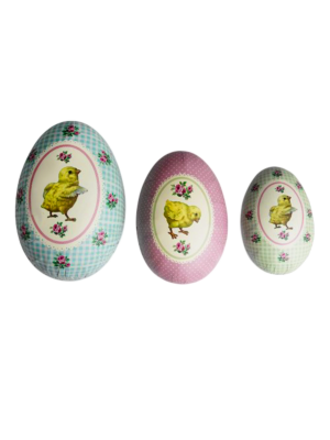 Paper Easter Egg Boxes