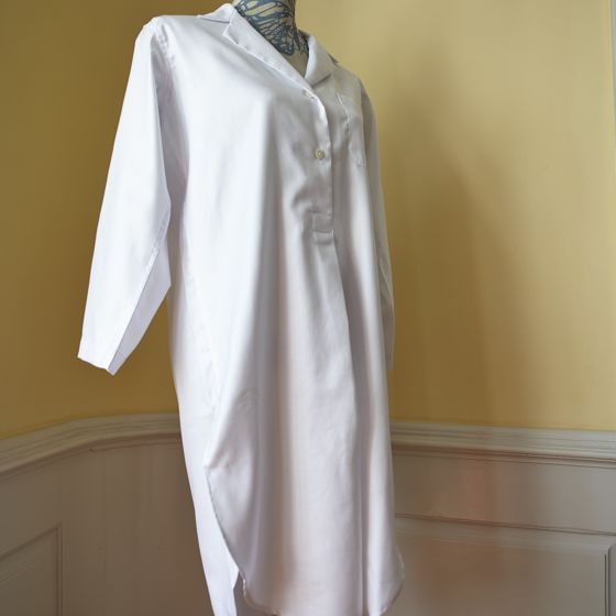 Daniel Hanson Sleep Shirt White for Woman