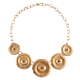 Giulia Barela Bronze Necklace Soli