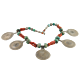 Antique Berber Necklace of Corals and Silver Amulets