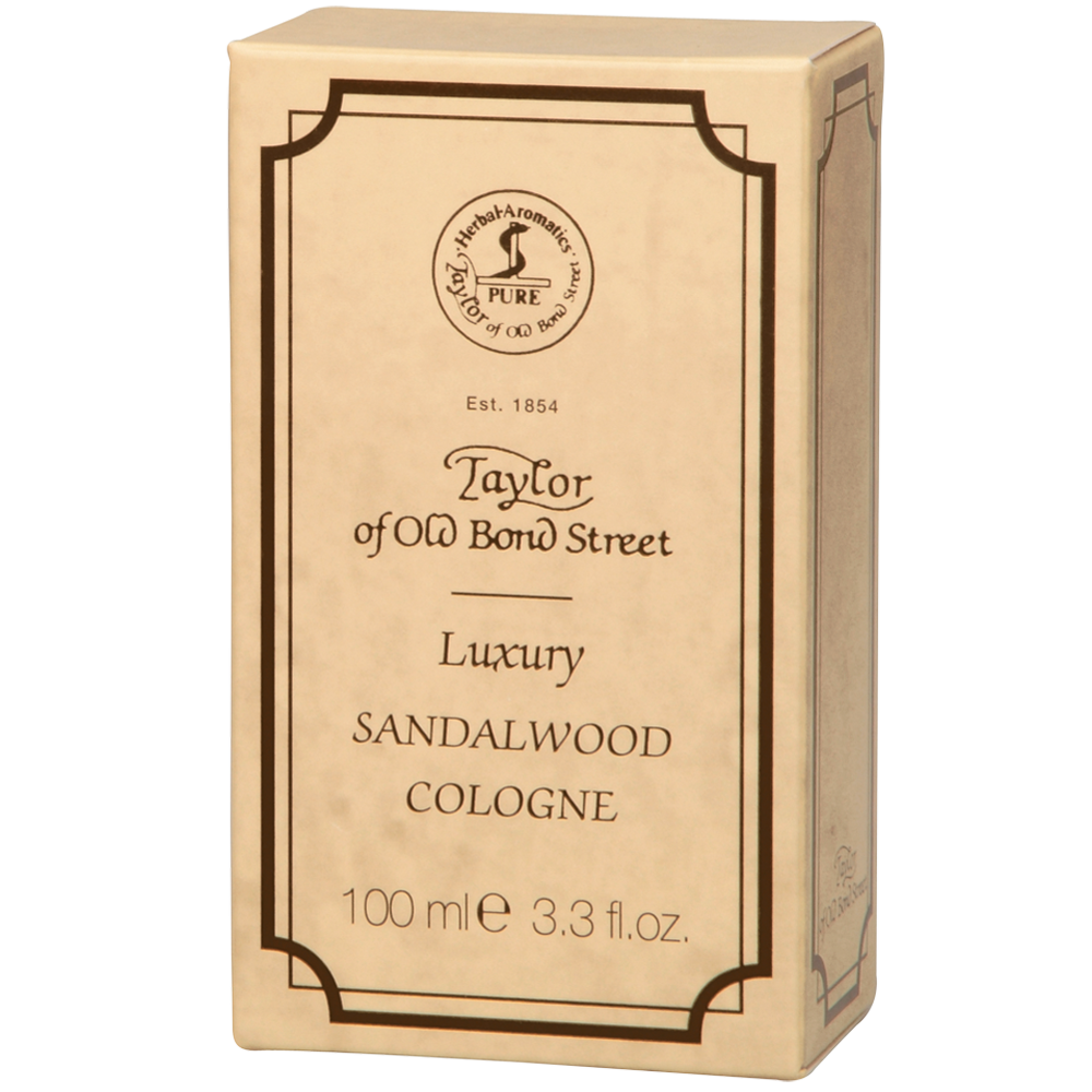 Taylor of Old Bond Street Luxury Sandalwood Cologne, 100ml