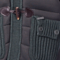Bark Gents Duffle Coat Knitted and Quilted Khaki