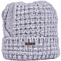 Bark Bonnet Knitted for Kids Light Grey