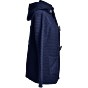 Bark Duffle Coat Knitted in Navy Blue