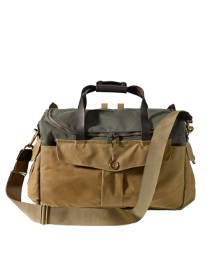 Filson Heritage Sportsman Camera Bag Ottergreen-Brown