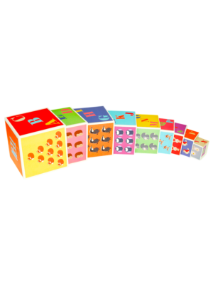 Alphabet & Number Stacking Blocks