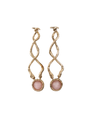 Giulia Barela Bronze Earrings Crossing