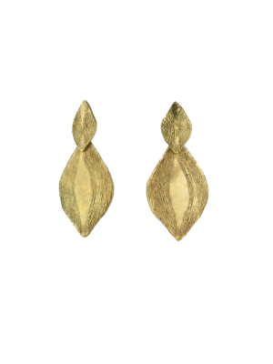 Giulia Barela Bronze Earrings Parenthesis