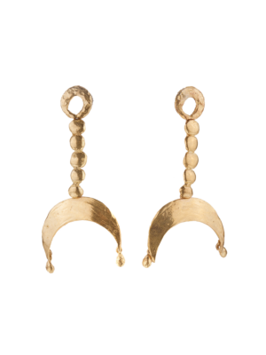Giulia Barela Bronze Earrings Oriente