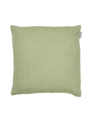 Alpaka Cushion Exclusive Fishbone Olive/White