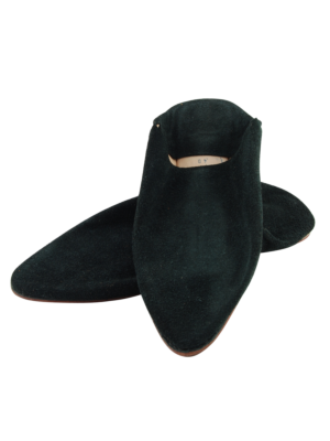 Babouche Moroccan Slipper Black