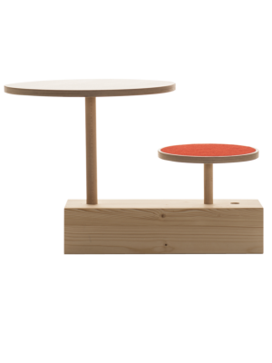 'Claus zu Tisch' Children's Stool And Table by Sirch