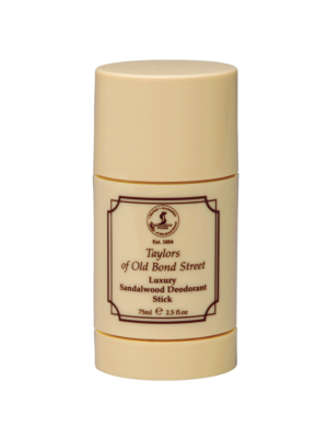 Taylor of Old Bond Street Luxury Sandalwood Deodorant Stick