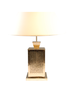 Oriental Rectangular Table Lamp