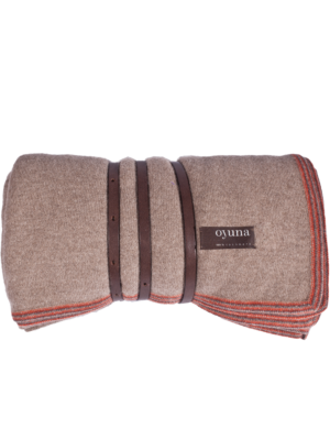 Oyuna Cashmere Throw Travel-Set Toscani