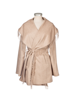 Lanificio Colombo Cashmere Jacket with Fringes