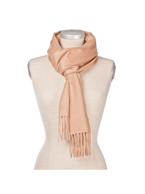 Lanificio Colombo Cashmere Scarf Natural Brown