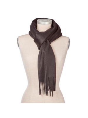 Lanificio Colombo Cashmere Scarf Black
