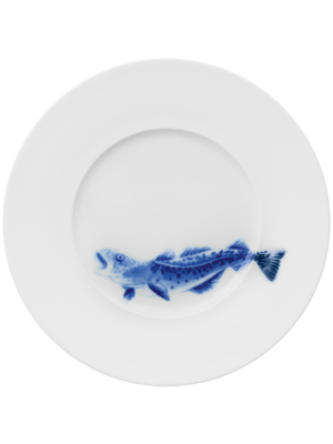 Cod Plate by Hering Berlin
