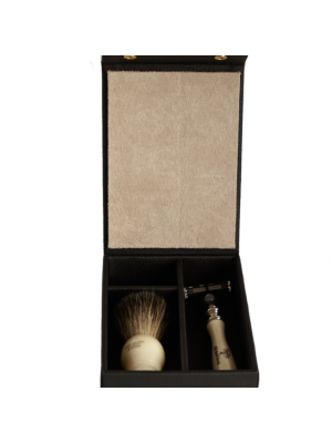 Taylor of Old Bond Street Travel Shaving Set black