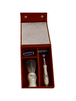 Taylor of Old Bond Street Travel Shaving Set