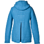 Bark Ladys Duffel Coat Knitted Turquoise