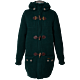 Bark Gents Duffle Coat Knitted Long Loden Green