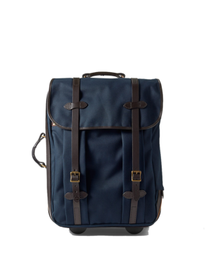 Filson Rolling Check-In Bag Medium Rollkoffer blau