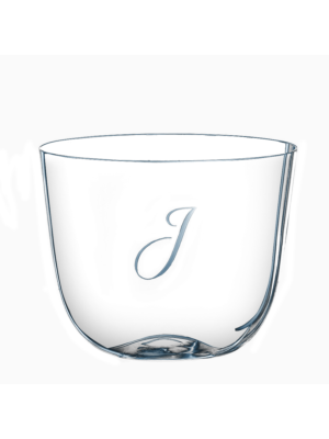 Lobmeyr Drinking Set No. 267 Water Tumbler with Engraved Letter