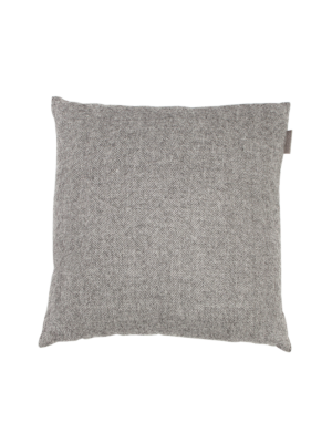 Alpaka Cushion Exclusive Fishbone Grey/White