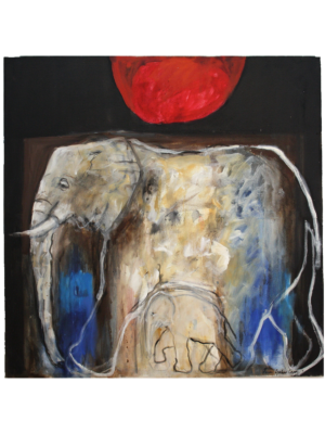 Ghost Elephant by Pam Guhrs-Carr - stArt Foundation
