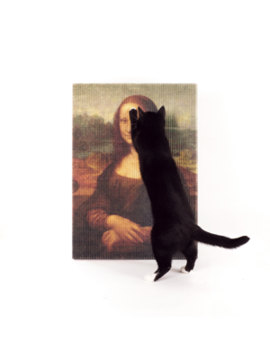 Lord Lou Mona Lisa Cat Scratching Post