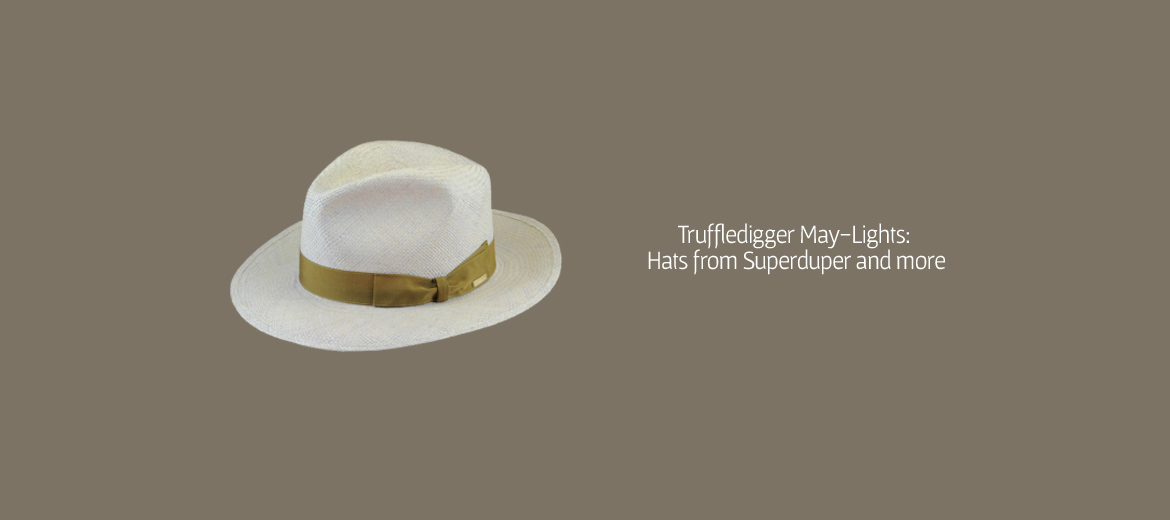 SuperDuper Hat The Duke white