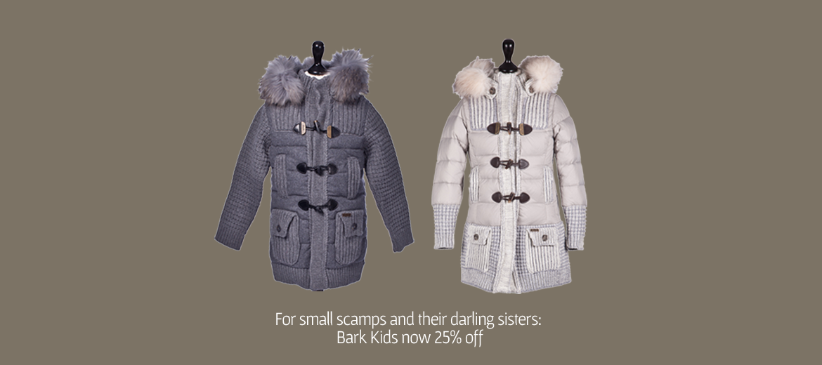 Bark children jackets