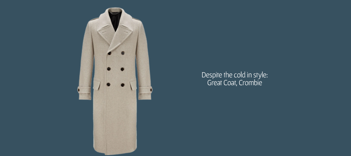 Crombie Great Coat